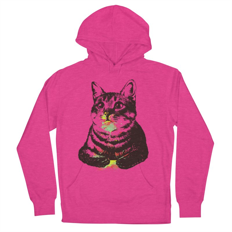 Cat_loves_watercolor Women's Pullover Hoody by gorix's Artist Shop