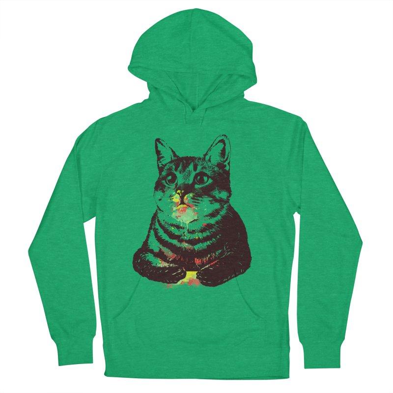 Cat_loves_watercolor Men's Pullover Hoody by gorix's Artist Shop