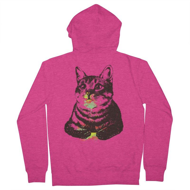 Cat_loves_watercolor Women's Zip-Up Hoody by gorix's Artist Shop