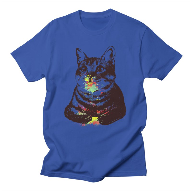 Cat_loves_watercolor Men's T-Shirt by gorix's Artist Shop