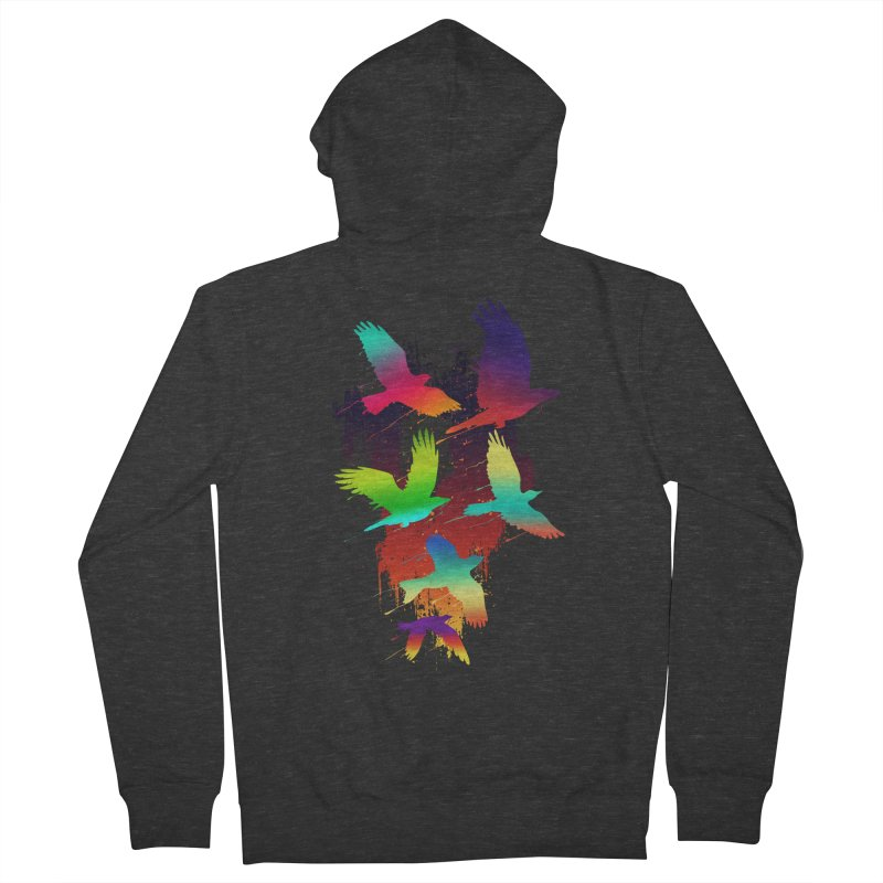 Color_migration Men's Zip-Up Hoody by gorix's Artist Shop