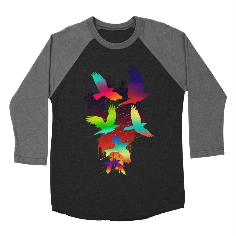 Color_migration Women's Baseball Triblend T-Shirt by gorix's Artist Shop