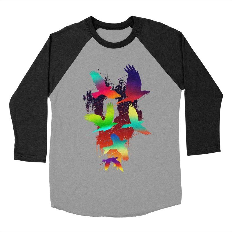 Color_migration Women's Baseball Triblend T-Shirt by gorix's Artist Shop