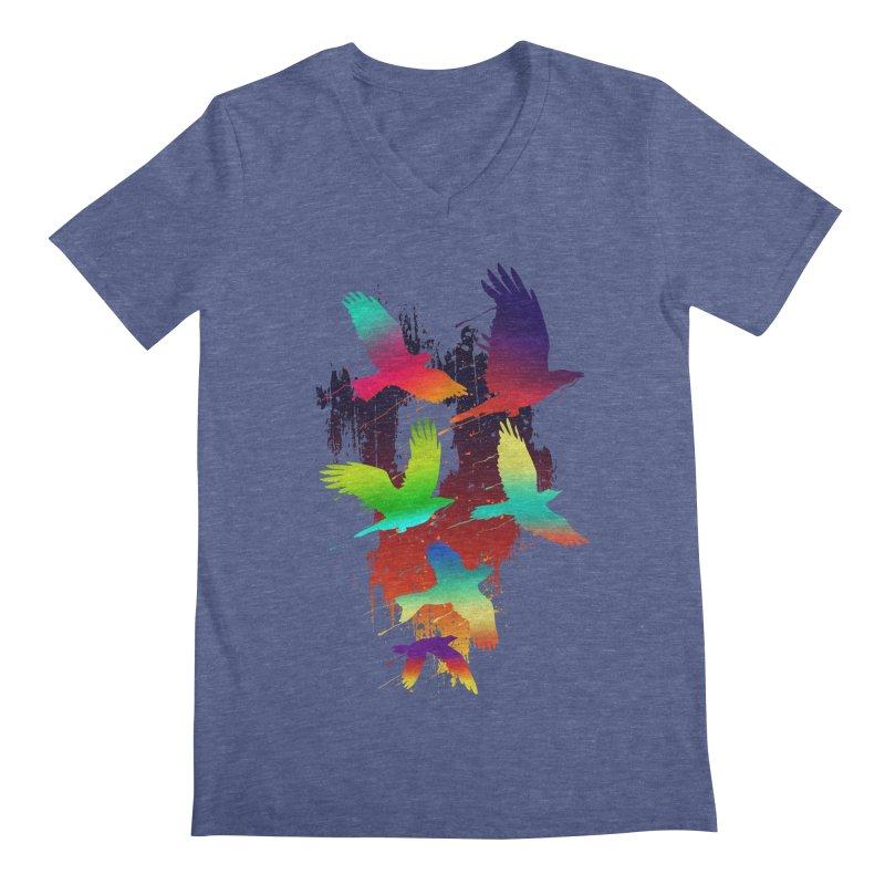 Color_migration Men's V-Neck by gorix's Artist Shop