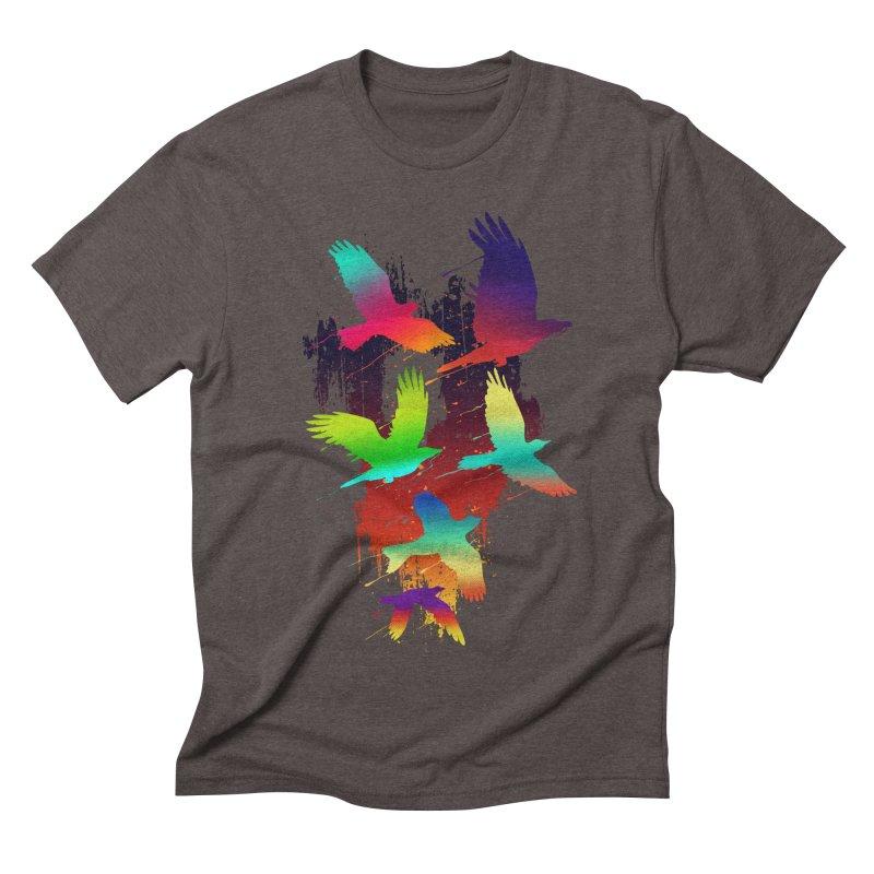 Color_migration Men's Triblend T-shirt by gorix's Artist Shop