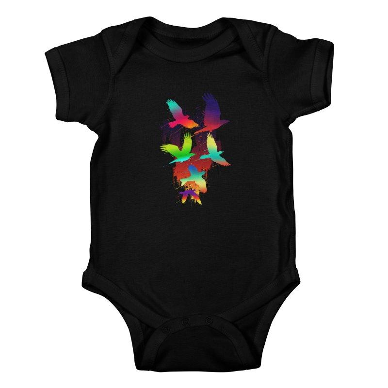 Color_migration Kids Baby Bodysuit by gorix's Artist Shop