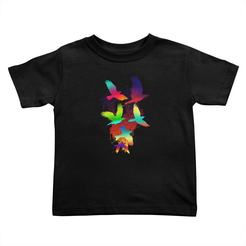 Color_migration Kids Toddler T-Shirt by gorix's Artist Shop