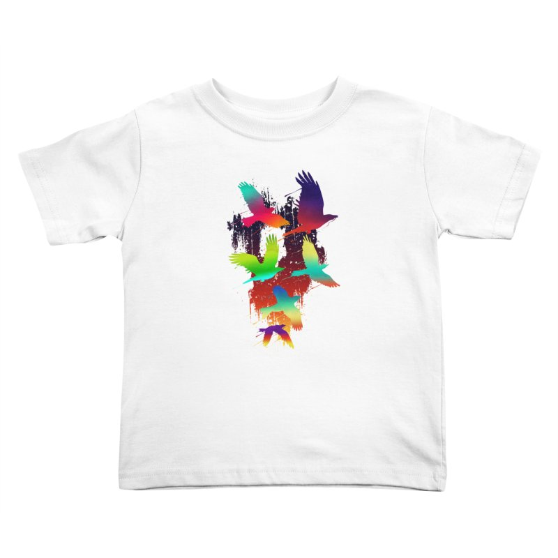 Color_migration Kids Toddler T-Shirt by gorix's Artist Shop