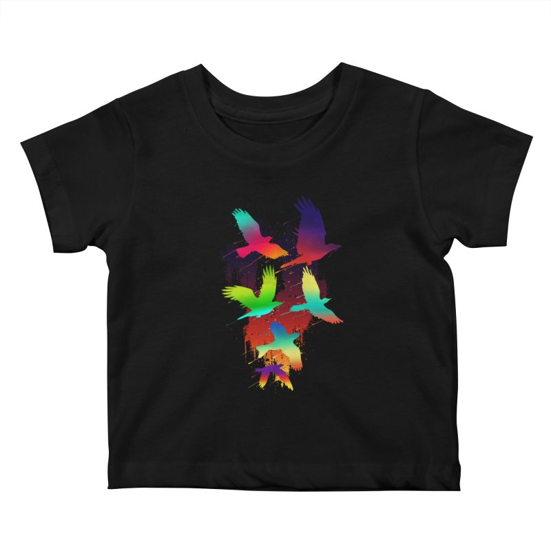 Color_migration Kids Baby T-Shirt by gorix's Artist Shop