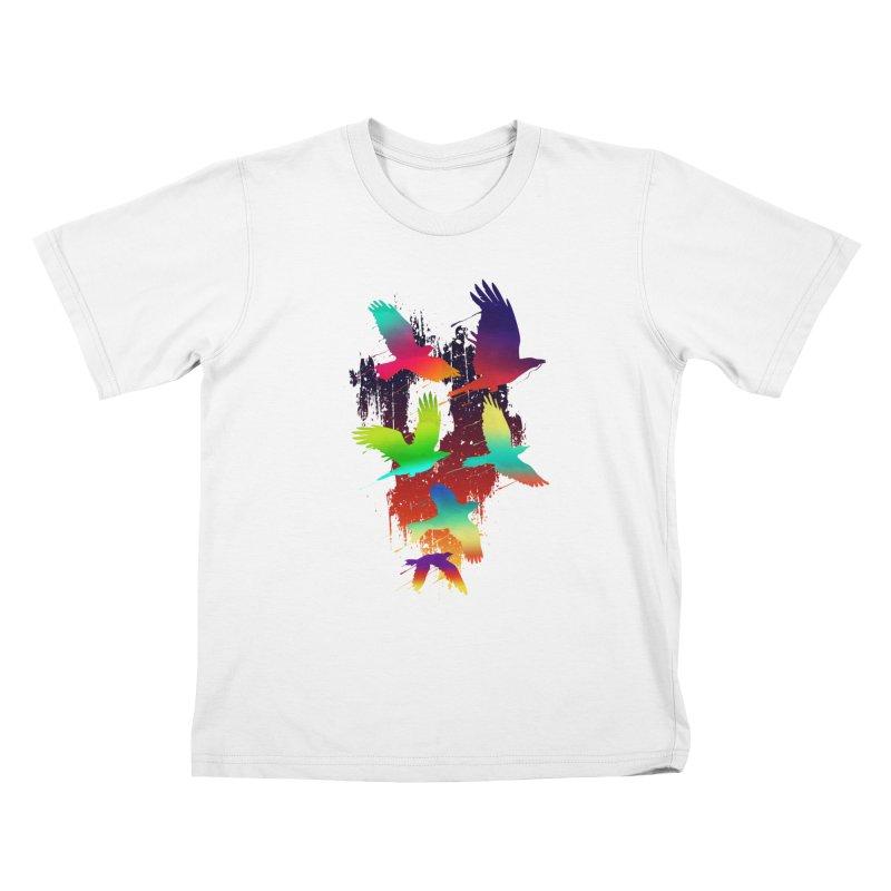 Color_migration Kids T-Shirt by gorix's Artist Shop