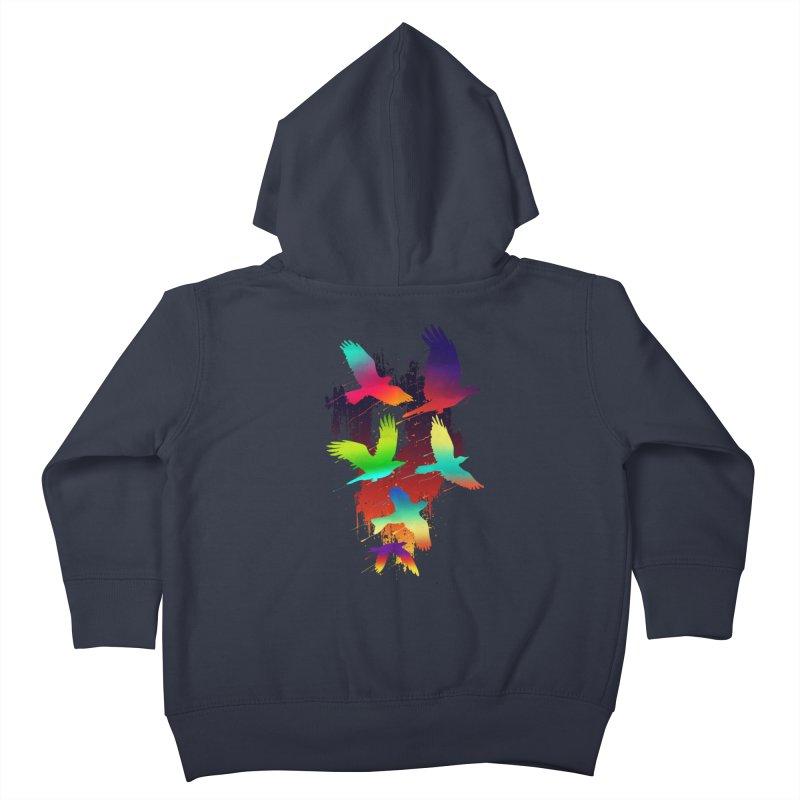 Color_migration Kids Toddler Zip-Up Hoody by gorix's Artist Shop