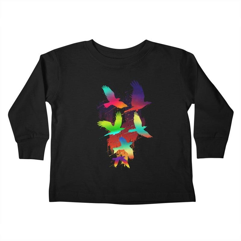 Color_migration Kids Toddler Longsleeve T-Shirt by gorix's Artist Shop