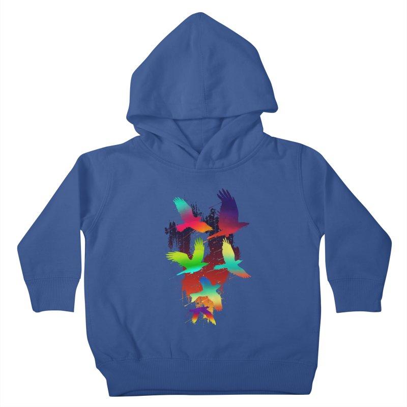 Color_migration Kids Toddler Pullover Hoody by gorix's Artist Shop