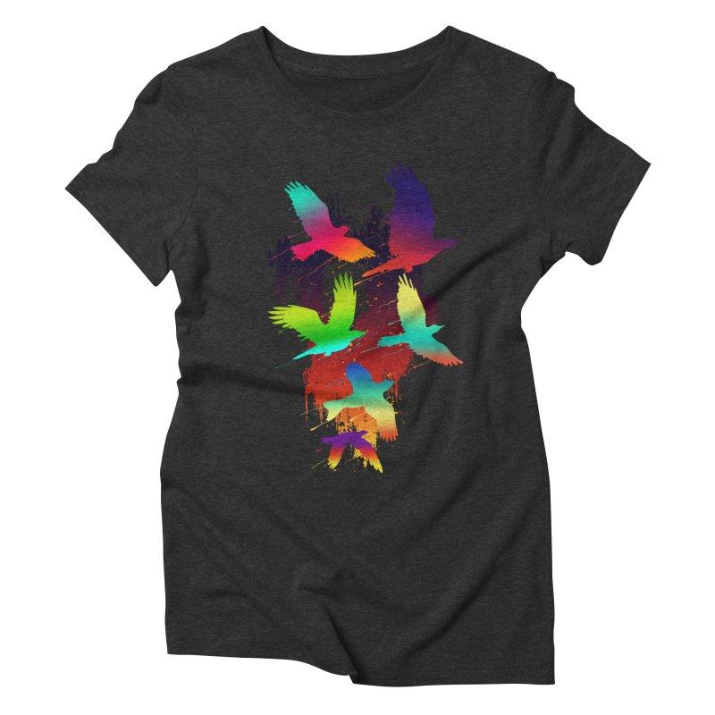 Color_migration Women's Triblend T-shirt by gorix's Artist Shop