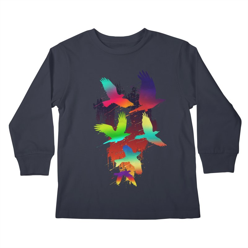 Color_migration Kids Longsleeve T-Shirt by gorix's Artist Shop