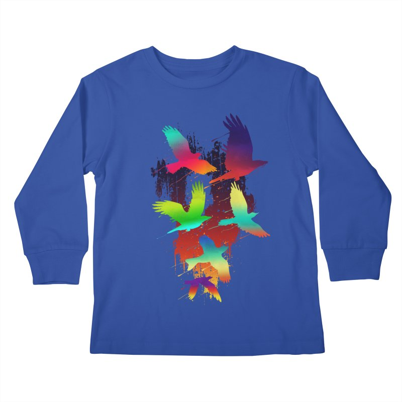Color_migration Kids Longsleeve T-Shirt by gorix's Artist Shop
