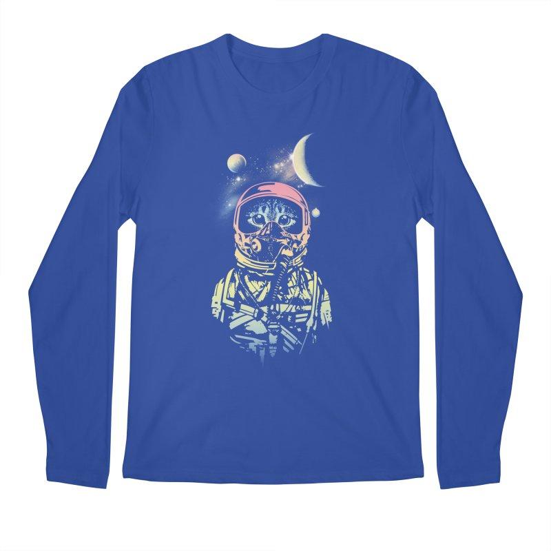 Cat in Space Men's Longsleeve T-Shirt by gorix's Artist Shop