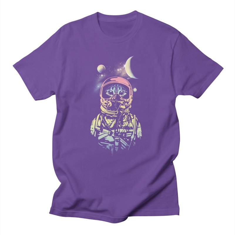 Cat in Space Men's T-Shirt by gorix's Artist Shop