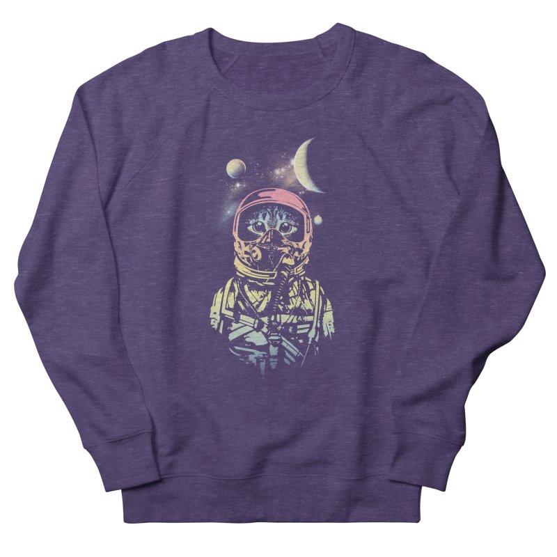 Cat in Space Men's Sweatshirt by gorix's Artist Shop