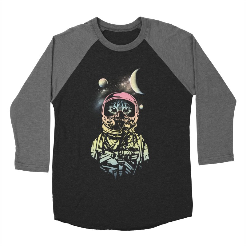 Cat in Space Women's Baseball Triblend T-Shirt by gorix's Artist Shop