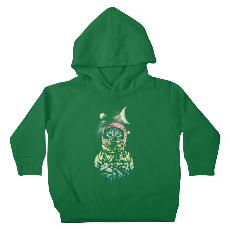 Cat in Space Kids Toddler Pullover Hoody by gorix's Artist Shop