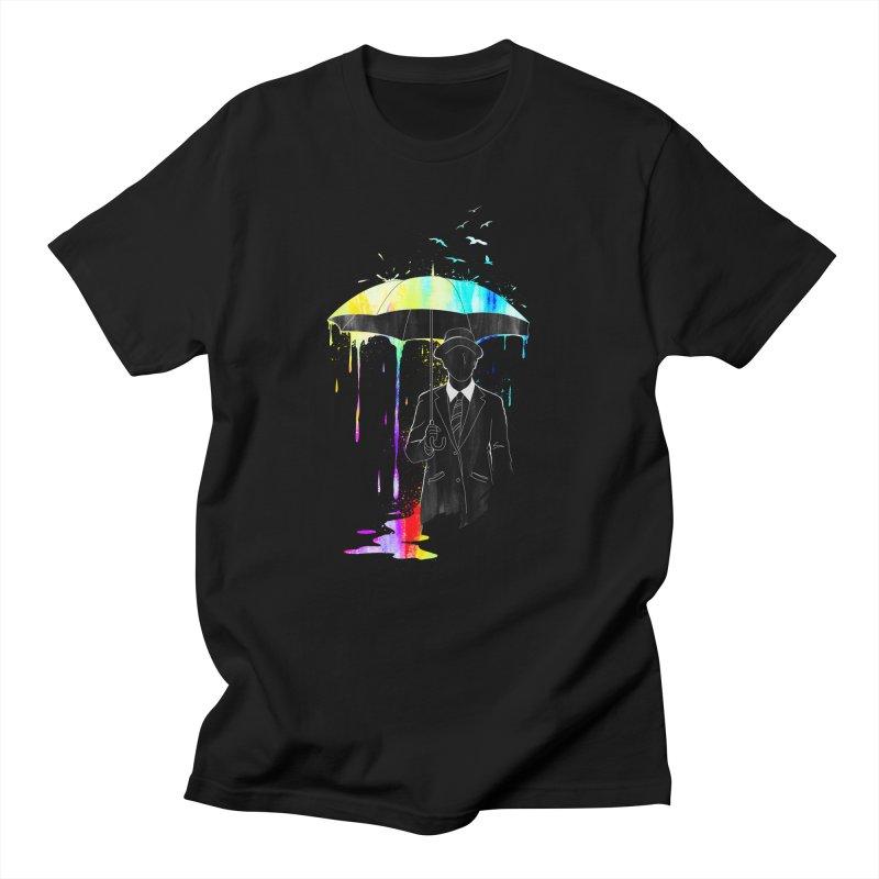 Under the Rain Men's T-shirt by gorix's Artist Shop