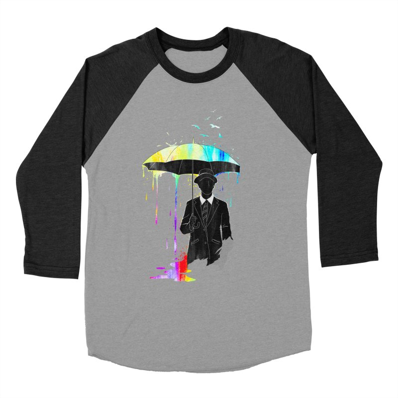 Under the Rain Women's Baseball Triblend T-Shirt by gorix's Artist Shop