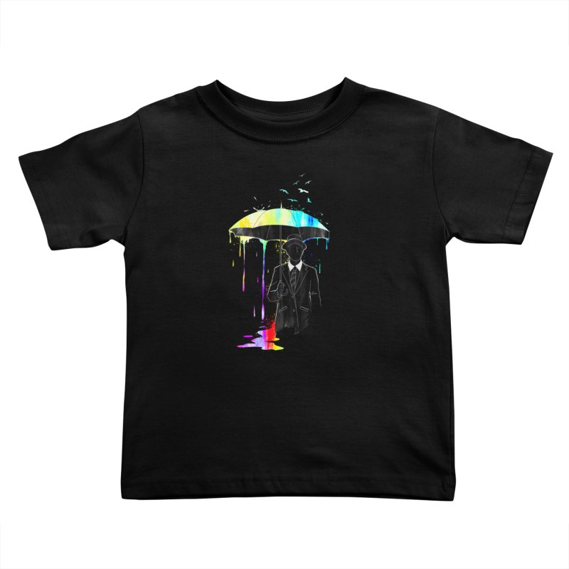Under the Rain Kids Toddler T-Shirt by gorix's Artist Shop