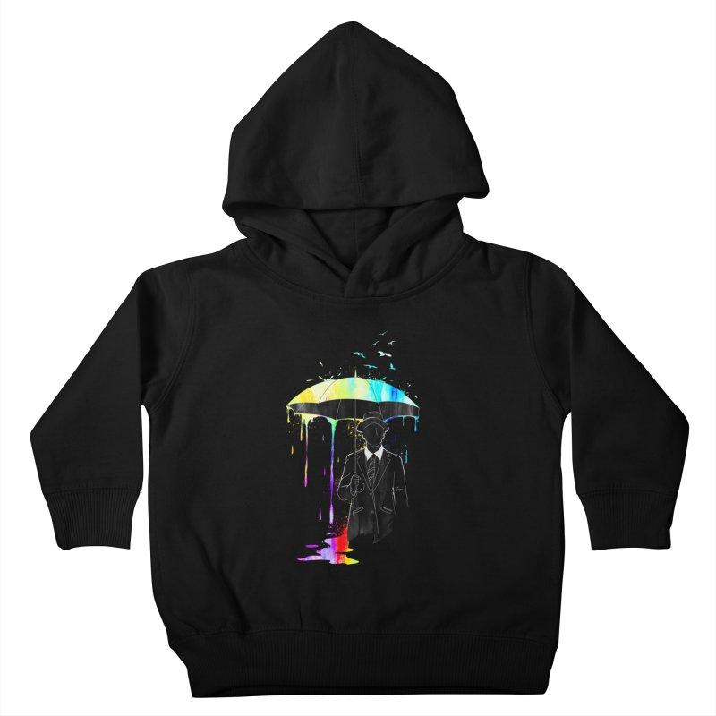 Under the Rain Kids Toddler Pullover Hoody by gorix's Artist Shop