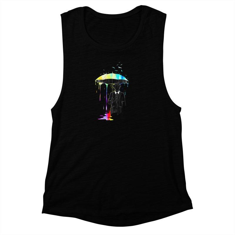 Under the Rain Women's Muscle Tank by gorix's Artist Shop