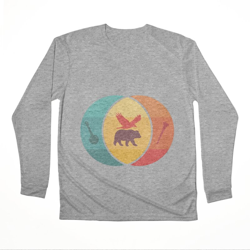 Bear & Bird Men's Performance Longsleeve T-Shirt by gothlyfe's Artist Shop