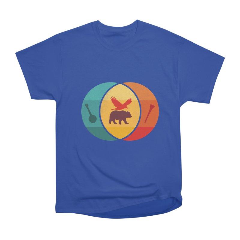 Bear & Bird Men's Heavyweight T-Shirt by gothlyfe's Artist Shop