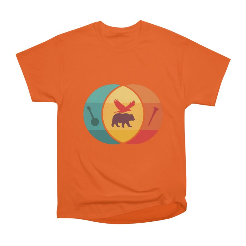 Bear & Bird Women's Heavyweight Unisex T-Shirt by gothlyfe's Artist Shop