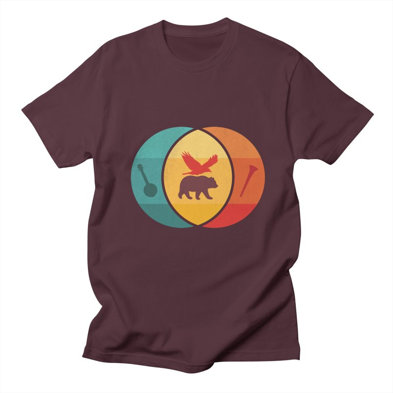 Bear & Bird Women's Regular Unisex T-Shirt by gothlyfe's Artist Shop