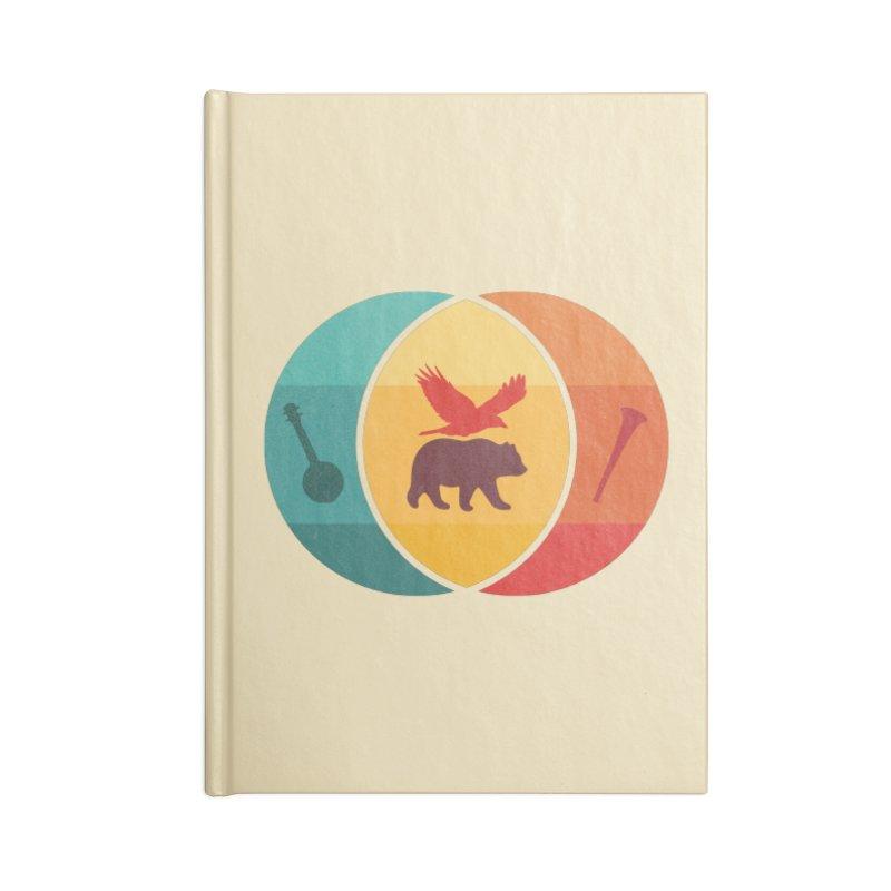 Bear & Bird Accessories Blank Journal Notebook by gothlyfe's Artist Shop