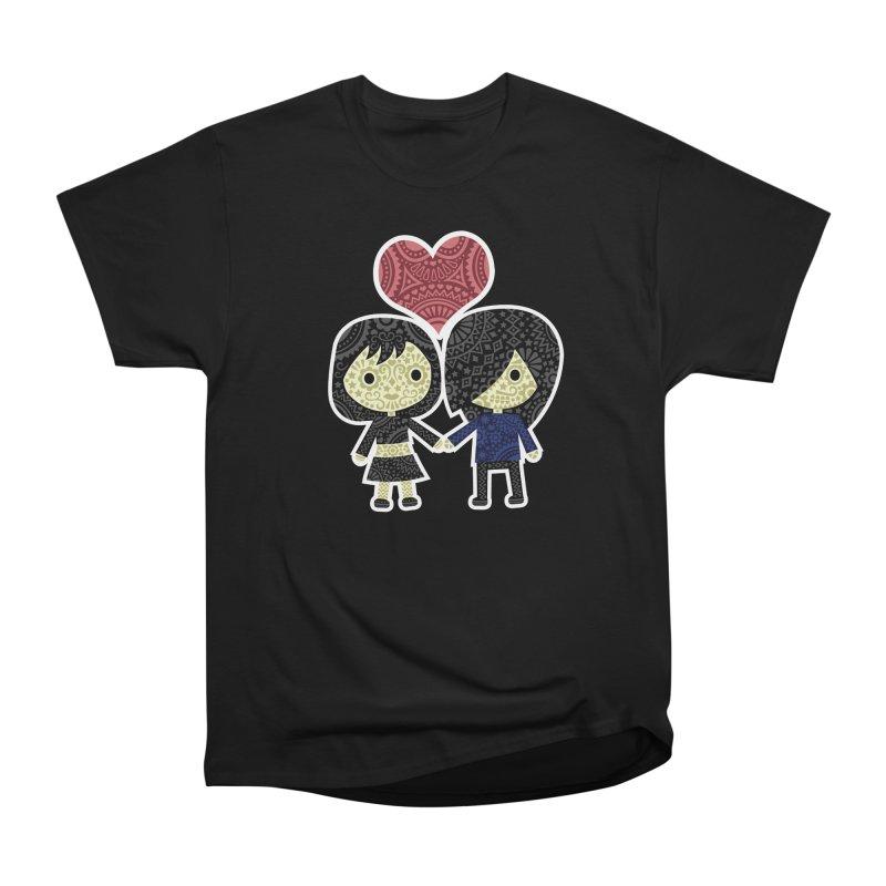 Sugar Heart Men's Heavyweight T-Shirt by gothlyfe's Artist Shop