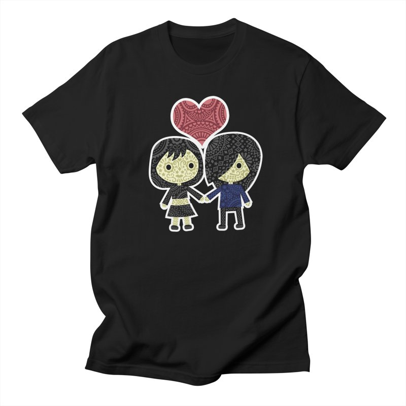 Sugar Heart Men's Regular T-Shirt by gothlyfe's Artist Shop