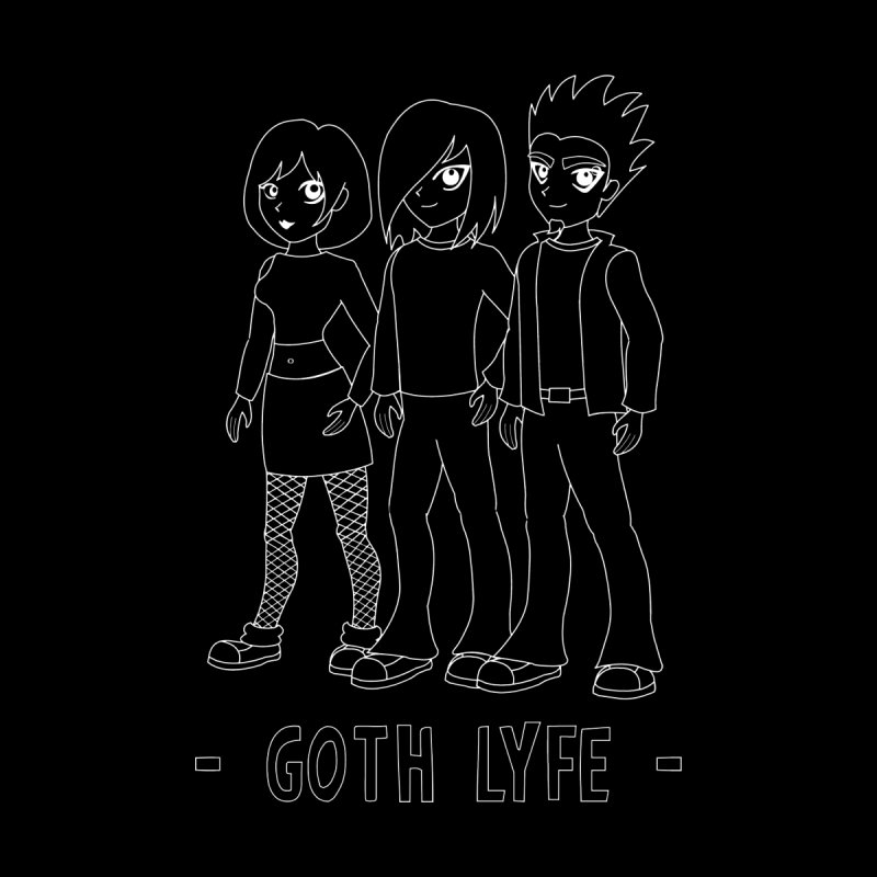 Living the Goth Lyfe Men's T-Shirt by gothlyfe's Artist Shop