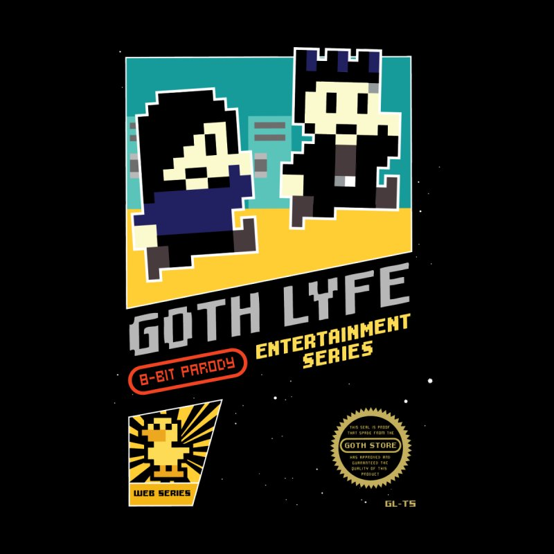 8-Bit Goth Lyfe Game Women's T-Shirt by gothlyfe's Artist Shop
