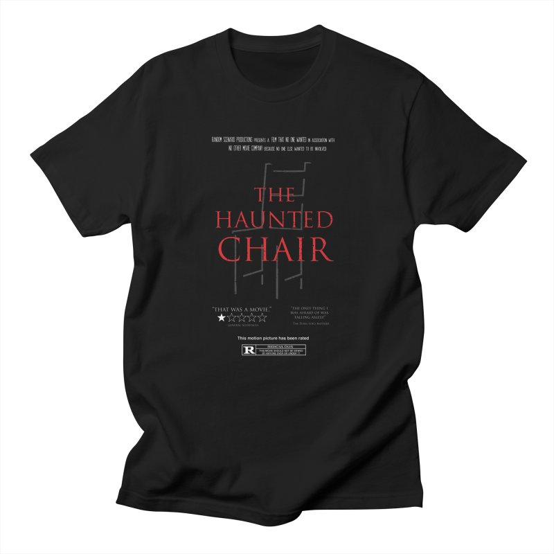 The Haunted Chair Men's Regular T-Shirt by gothlyfe's Artist Shop