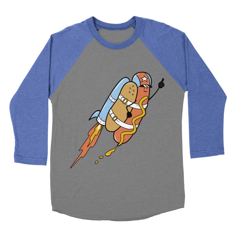 The Fastest Food Men's Baseball Triblend T-Shirt by