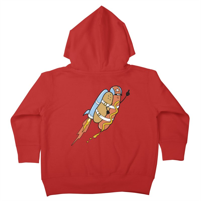 The Fastest Food Kids Toddler Zip-Up Hoody by