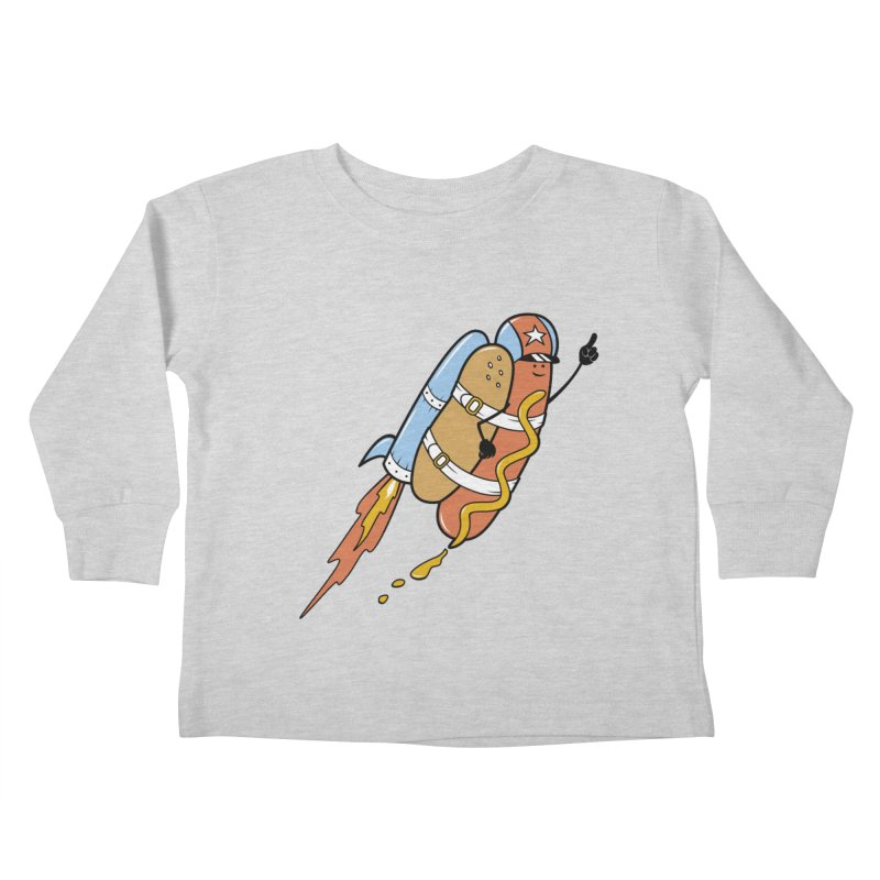 The Fastest Food Kids Toddler Longsleeve T-Shirt by