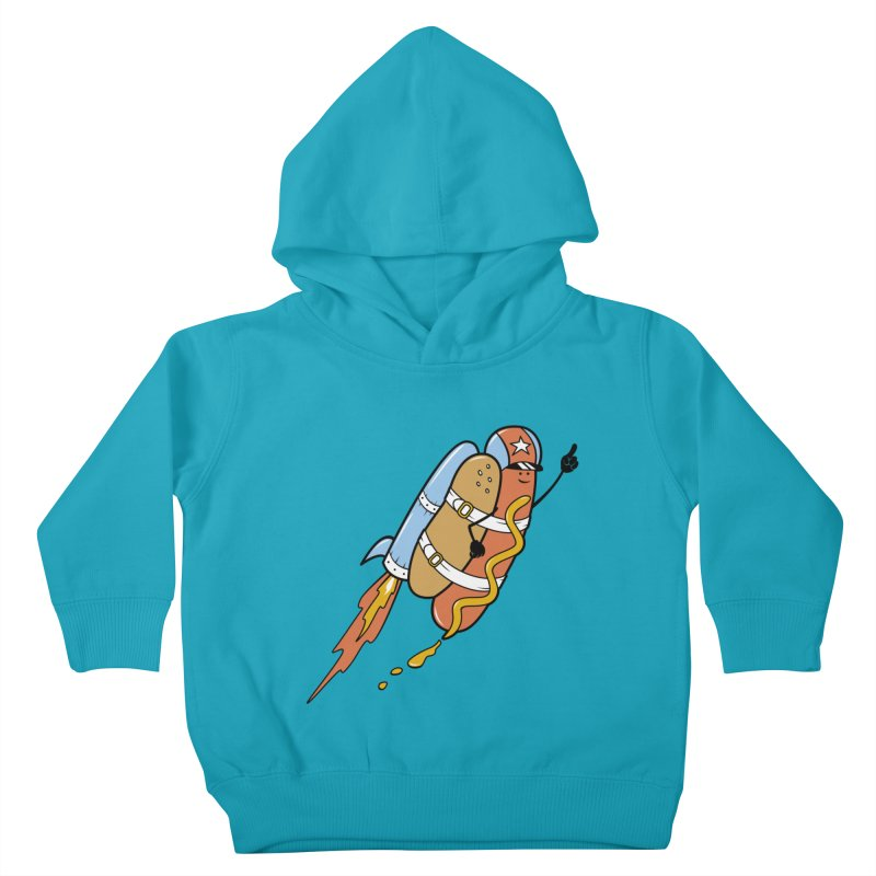 The Fastest Food Kids Toddler Pullover Hoody by