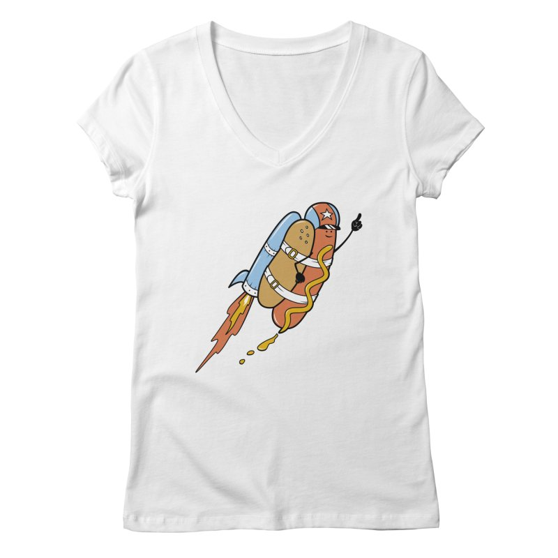 The Fastest Food Women's V-Neck by