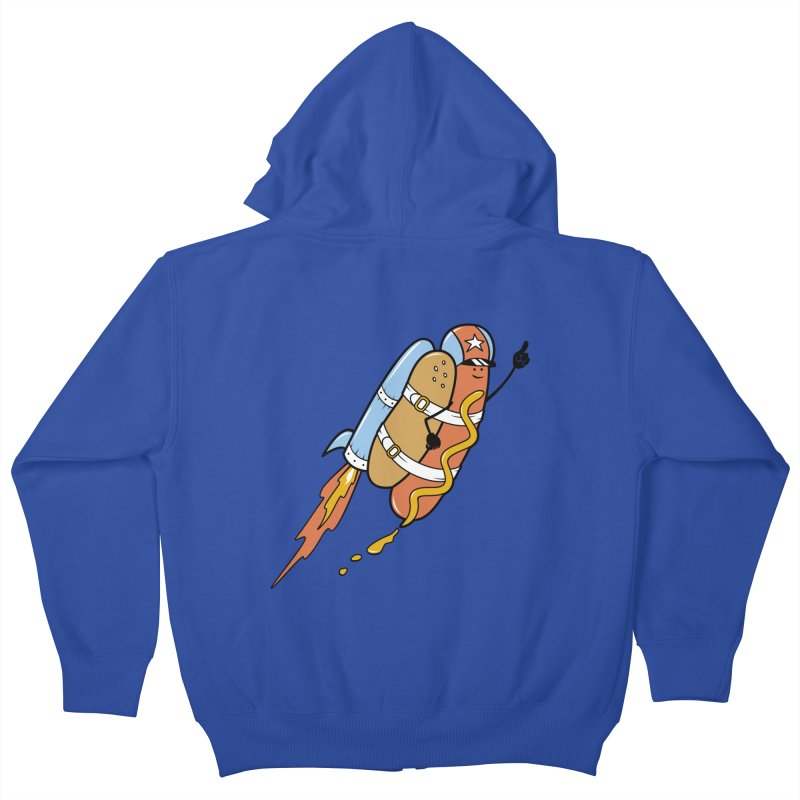 The Fastest Food Kids Zip-Up Hoody by