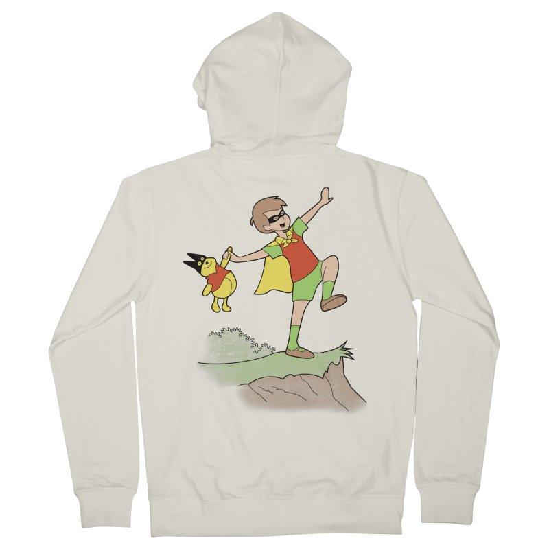 Robin Men's Zip-Up Hoody by