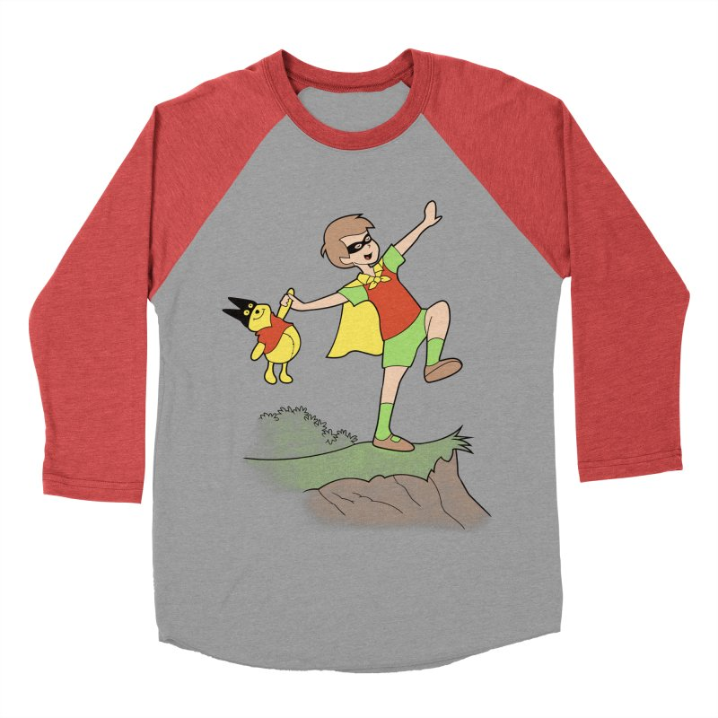 Robin Men's Baseball Triblend T-Shirt by