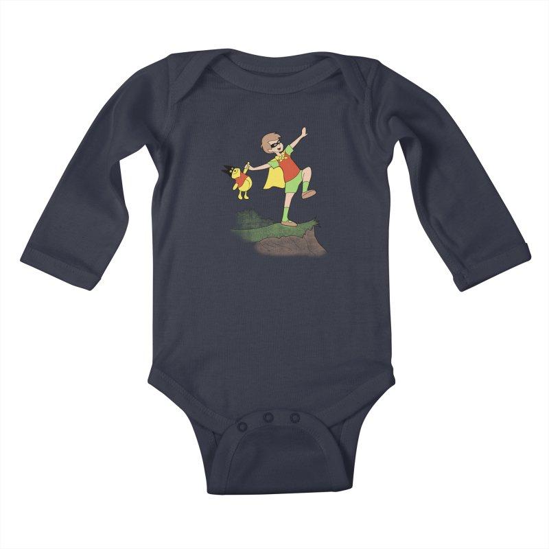 Robin Kids Baby Longsleeve Bodysuit by
