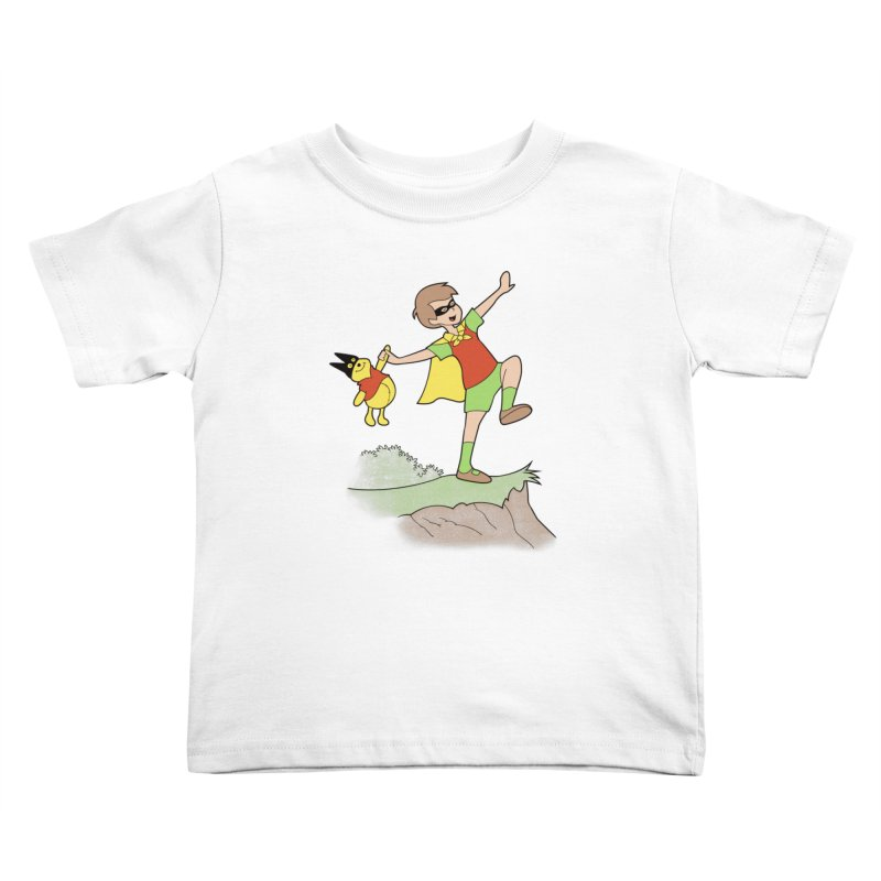 Robin Kids Toddler T-Shirt by